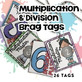 BRAG TAG BUNDLE (Multiplication & Division Math Fact Master)