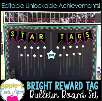 REWARD TAG Bulletin Board Set and UNLOCKABLE ACHIEVEMENTS!!!