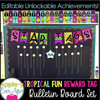 REWARD TAG Bulletin Board Set and UNLOCKABLE ACHIEVEMENTS!!!
