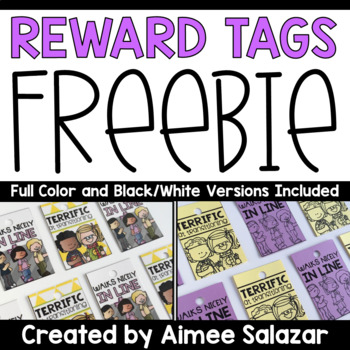 BRAG TAG Freebie {Walking In Line & Transitions}