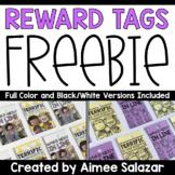 Reward Tag Freebie {Walking In Line & Transitions}