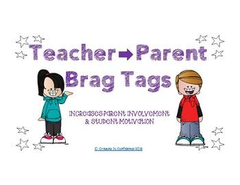 BRAG TAG Positive Parent Notes