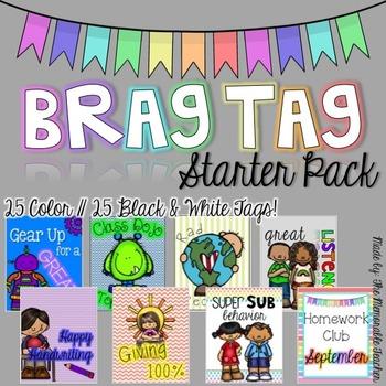 BRAG TAG Starter Pack!