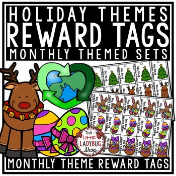 Holiday Themed Brag Tags [Christmas, Thanksgiving -Positive Behavior Incentive]