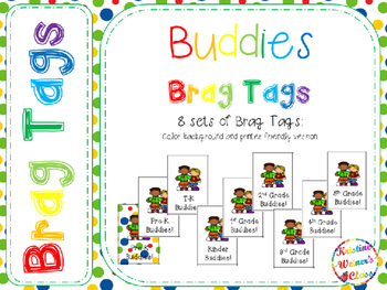 BRAG TAGS: Buddies {Freebie}