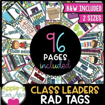 BRAG TAGS - Class Leaders