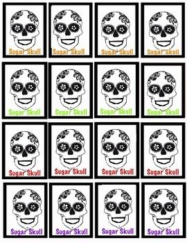 BRAG TAGS - Halloween and Day of the Dead - 4 pages