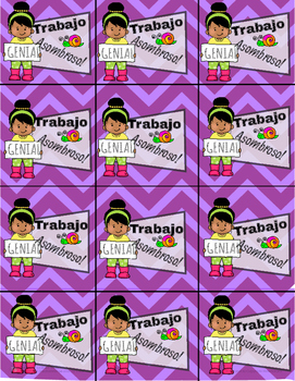 BRAG TAGS IN SPANISH