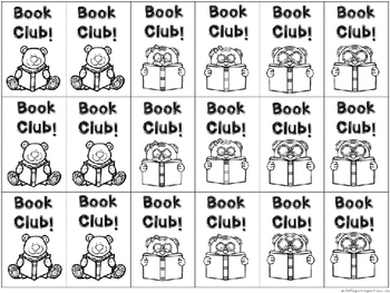 BRAG TAGS: Monthly Book Club {Behavior Incentive}