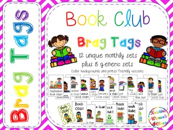BRAG TAGS: Monthly Book Club {Behavior Incentives}