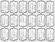 BRAG TAGS: Perfect Attendance--Black and White Version {Behavior Incentive}