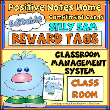 BRAG TAGS Silly Sam Classroom Compliments CLASSROOM