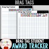 BRAG TAGS Editable Student Award Tracker - Bundle Companion