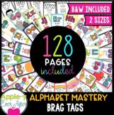 BRAG TAGS Super Set - Alphabet Mastery