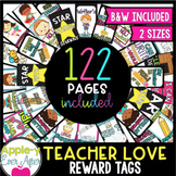 Reward Tags Super Set - Teacher Love Pack