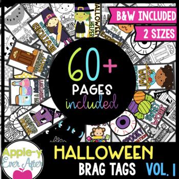BRAG TAGS Halloween Fun