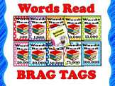 BRAG TAGS: Words Read