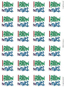BRAG Tag Stickers Motivational