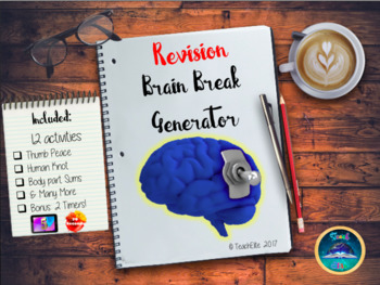 Back To School : BRAIN BREAK