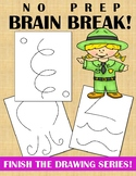 BRAIN BREAK – FINISH THE DRAWING SERIES