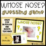 BRAIN BREAK Games   Guess the Nose   Animal Theme   F2F an