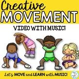 "Movement Activity, Brain Break: ""MOVE YOUR BODY"" Video & M"