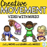 "Brain Break:""MOVE YOUR BODY"" Video with Music for Music, P"