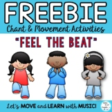"Freebie: Brain Breaks, Movement Cards: ""FEEL THE BEAT"" & ""TAKE A SEAT"""
