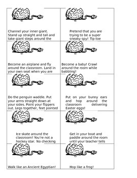 78 BRAIN BREAKS TO GET THOSE KIDS MOVING