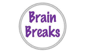 BRAIN BREAKS label