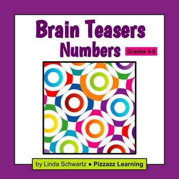 BRAIN TEASERS: NUMBERS