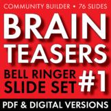 BRAIN TEASERS VOL. 1 – Logic, Word Sense, Puzzles, Lateral Thinking – Fun Stuff