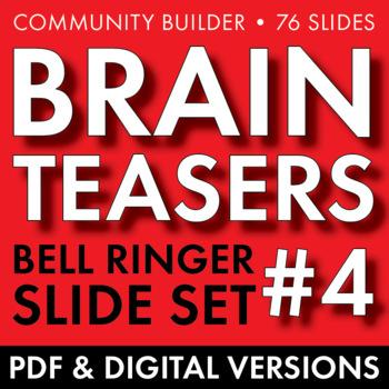 BRAIN TEASERS VOL. 4 – Logic, Word Sense, Puzzles, Lateral Thinking – Fun Stuff
