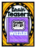 BRAIN TEASERS: WORD PUZZLES - Rebus Puzzles, Word Plexers