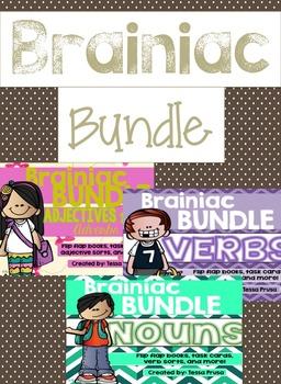BRAINIAC BUNDLE #1: NOUNS, ADJECTIVES, VERBS