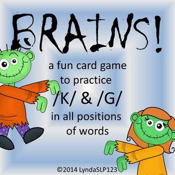 BRAINS!! Articulation Game for /K/ & /G/