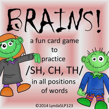 BRAINS!! Articulation Games for /SH, CH, TH/