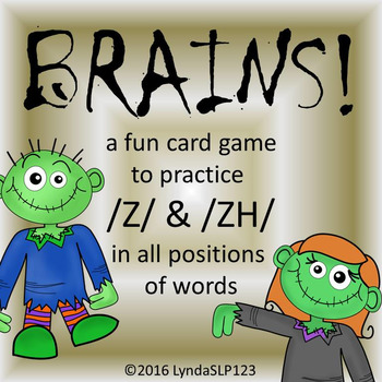 BRAINS!! Articulation Games for /Z/ and /ZH/