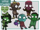 Little Zombies (Digital Clip Art)