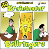 ELA BELLRINGER BRAIN TEASERS:  12 WEEKS OF MYSTERY STORIES, PUZZLES & RIDDLES