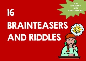 BRAINTEASERS AND RIDDLES
