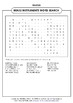 BRASS INSTRUMENTS WORD SEARCH