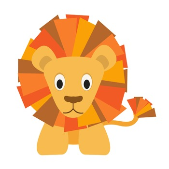 BRAVE LION CLIPART SINGLE - LIMITED TIME!