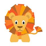 BRAVE LION CLIPART SINGLE - LIMITED TIME!