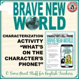 BRAVE NEW WORLD CREATIVE CHARACTERIZATION with Character's