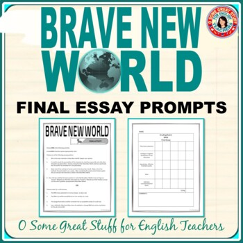 Sample Essays High School Students  English Essay Sample also Health Promotion Essays Brave New World Final Essay Prompts And Thesis Statement Proposals English Essay Introduction Example