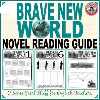 BRAVE NEW WORLD Individual Chapter Activities Bundle
