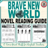BRAVE NEW WORLD Individual Chapter Activities Bundle NO PREP and DETAILED KEY