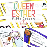 BRAVE QUEEN ESTHER BIBLE LESSON