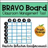 BRAVO Board-Classroom Management Tool-Positive Behavior Reinforcement